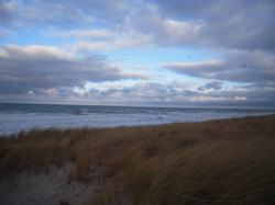 13 Ostseestrand im Herbst