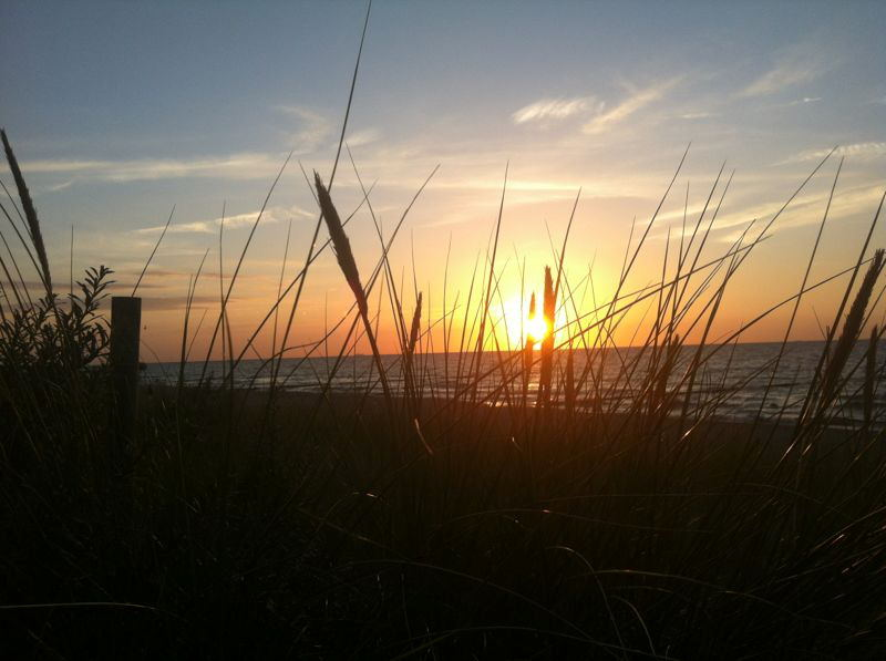 05 Sonnenuntergang am Strand