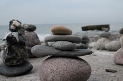 07 Steine am Strand