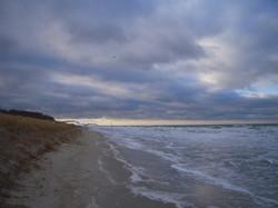 12 Ostseestrand im Herbst