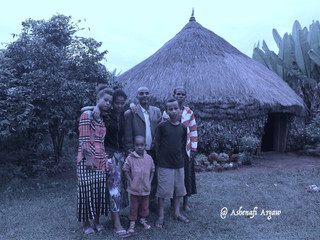 Coffee Farmer and his Family in SIDAMA