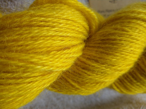 Bright and deep, hand dyed yarn