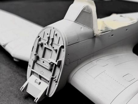 Ju-87 B-2 Fuselage Preparation & Assembly