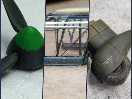 Landing Gear, Propeller and Canopy
