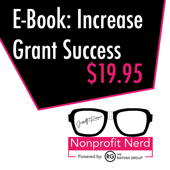 Increasing Grant Success E-Book