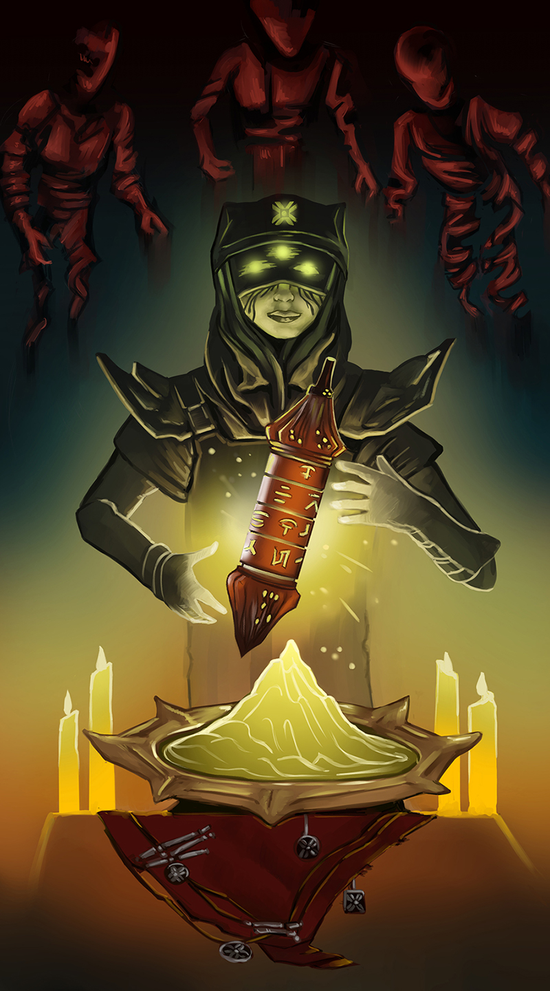 Eris Morn and the Cryptoglyph