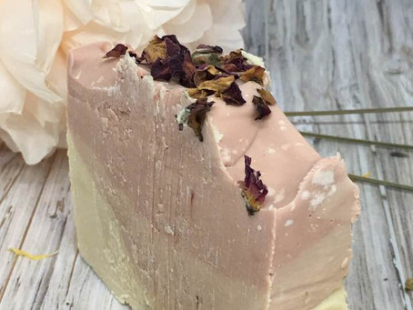 Spiced Vanilla Raw Goat Milk Soleseife (Salt Brine) SOAP