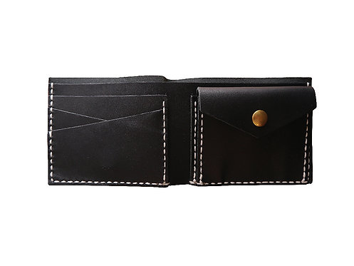 D.I.Y. Wallet with Coin Case - Horsehide