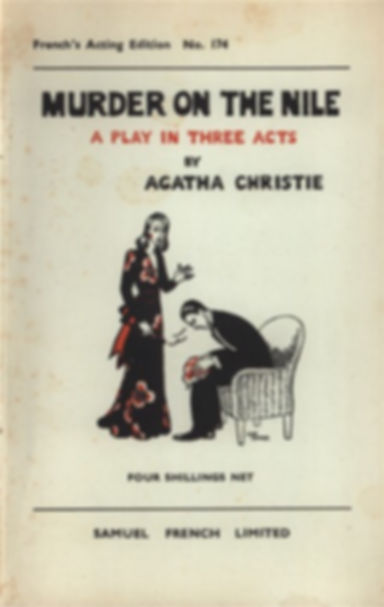 agatha christie, three acts, play, samuel french