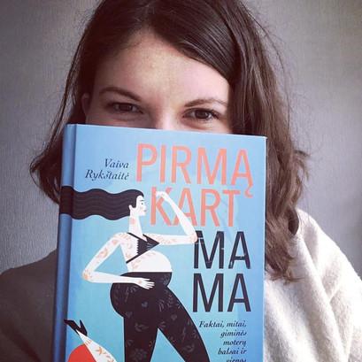 Knygų klubas: Pirmąkart mama