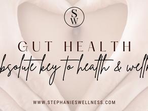 GUT HEALTH, THE ABSOLUTE KEY TO HEALTH & WELLNESS