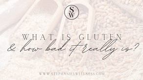 WHAT IS GLUTEN & HOW BAD REALLY IT IS?
