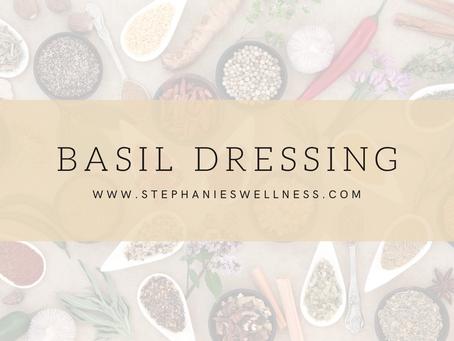 Basil Salad Dressing