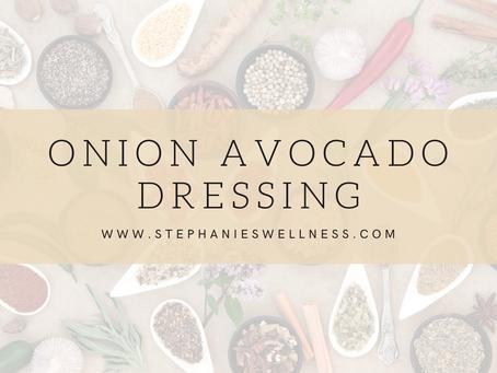 Onion Avocado Dressing