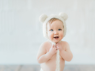 Turning one with The Bear | Sweet Juniper Photography | Pittsburgh, Pa