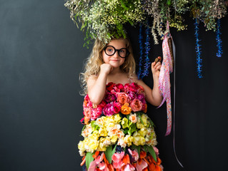 The ultimate flower dress