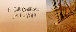 Gift Certificate Front