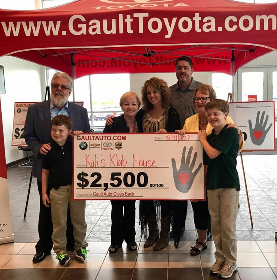 Thank you Gault Toyota!