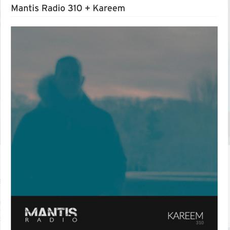 kareem mix for Mantis Radio