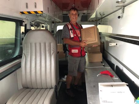 Stu Helps People Find Hope after Hurricane Ida