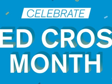 Welcome to Red Cross Month