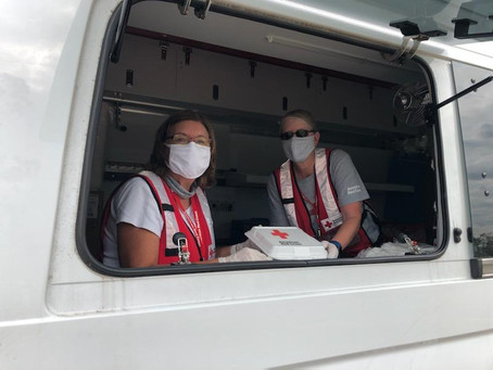 Behind the Scenes with a Disaster Services Volunteer Duo