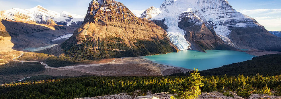 Berg Lake Mount Robson Provincial Park