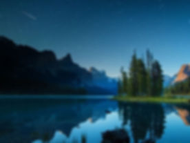 Maligne Lake Spirit Island Jasper National Park