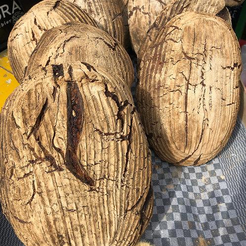 Hausgemachtes saftiges Roggen-Sauerteigbrot, 1kg