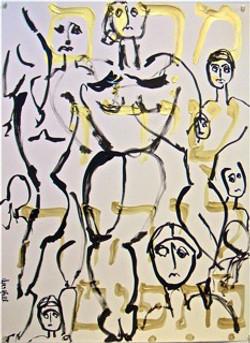 Dancing Women Series No. 2