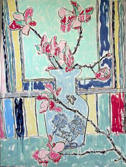 Magnolias in Marion's Vase