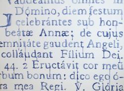 Beatae Annae - St. Anne