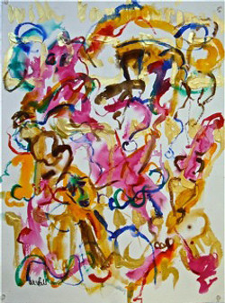 Dancing Women Series No. 10
