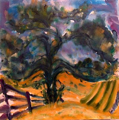 Hawthorn Tree I