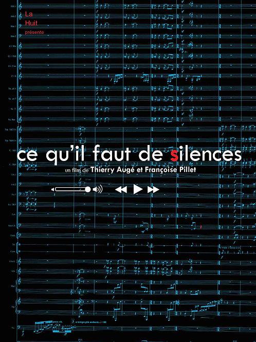 Ce qu'il faut de silences