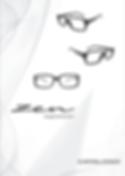 Catalogo de armação para óculos de grau linha Zen eyewear da Metalzilo
