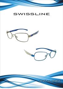Catalogo de armações para óculos de grau Swissline da Metalzilo