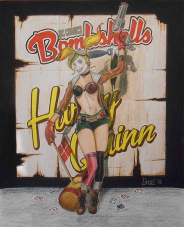 DC Bombshells Harley Quinn