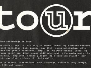 Union Recordings Tour 1992