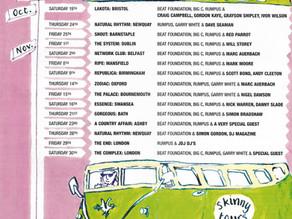 Skinny Malinky Tour 1996