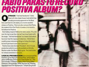 Fabi Paras - Positiva Album Rumour