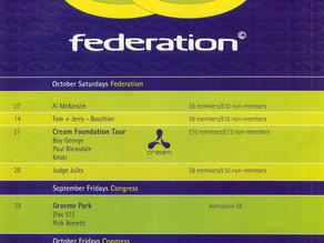 Federation - Blackpool 1995