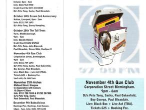 Essential Selection Tour Advert 1995