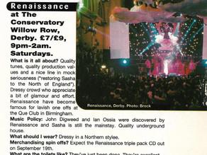 Renaissance 1994 - £7 Admission