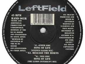 Leftfield - Song Of Life 1992