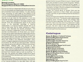 Guerilla Records Profile