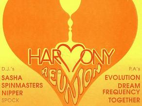Harmony @ Hacienda Flyer 1991