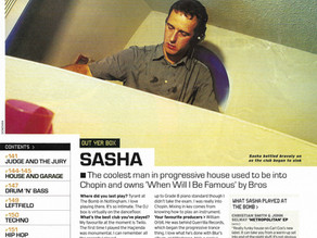 Sasha - Out Yer Box