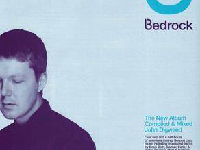 Bedrock Mix Album 1999 Full Page Magazine Advert