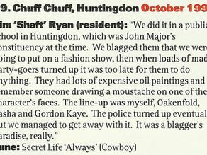 Chuff Chuff .. Blag a venue..